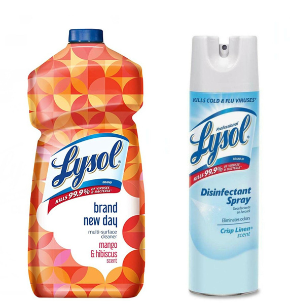 lysol, antibacterialspray, disinfectant, householddisinfectant