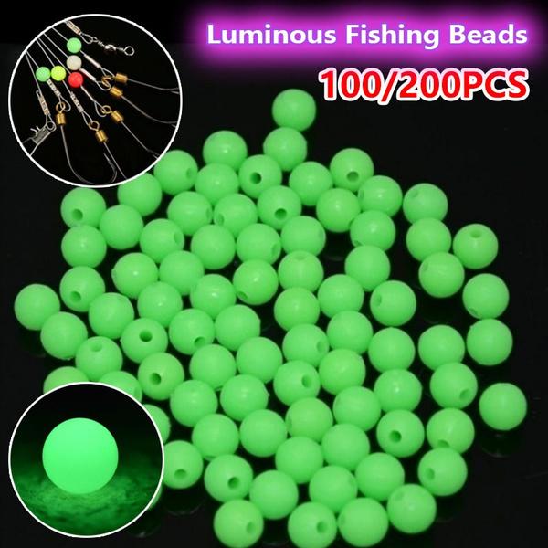jewelrymakingacrylicbead, Fishing Lure, luminousfishingbead, Dark