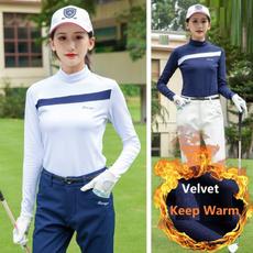 Fashion, Golf, Beauty, Long Sleeve