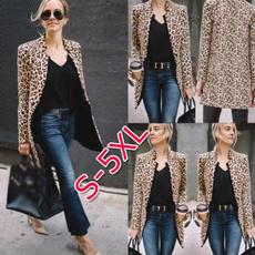leopardblazer, Fashion, Blazer, Outerwear