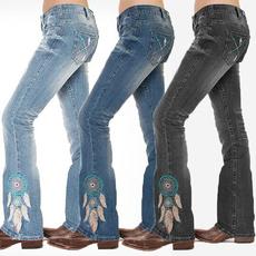 Plus Size, pants, Women jeans, Denim