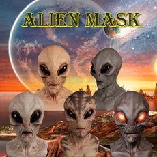 alienmask, scary, Magic, Toys and Hobbies