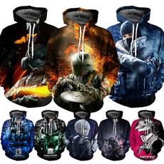 Couple Hoodies, 3D hoodies, gaes, Casual Hoodie