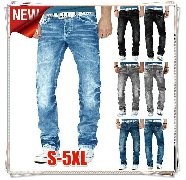 men jeans, Plus Size, skinnytrouser, Casual pants