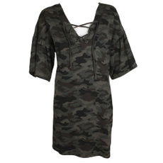 Olives, gowns, Outerwear, camouflage