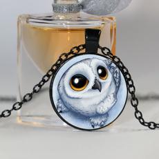Owl, Woman, art, Jewelry