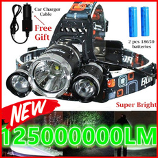 Brillante, led, Cargador, Led Flash Light
