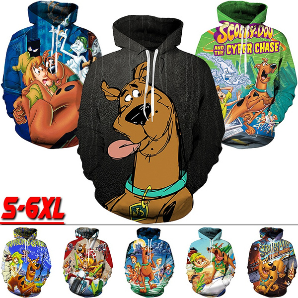 Plus Size, Sleeve, scoobydoo, Long Sleeve