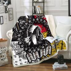skull, printedblanket, Blanket, childblanket