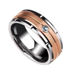 ringsformen, tungstenring, DIAMOND, Gifts For Men