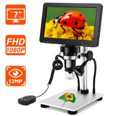 microscope, Outdoor, lcd, mikroskop