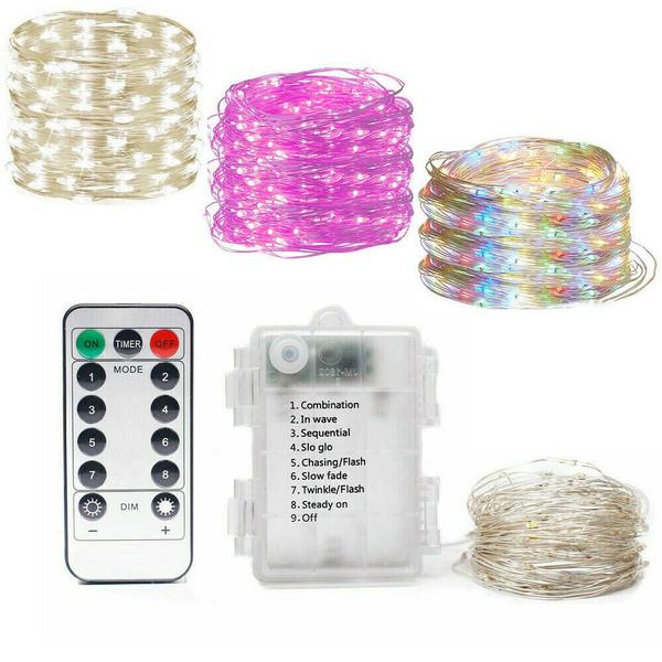 Remote, led, 10m100ledstringlight, fairy