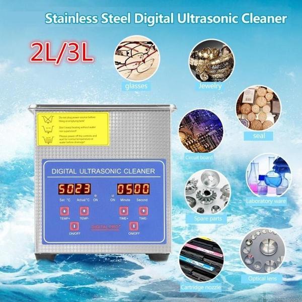 Steel, sonic, cleaningmachine, washing