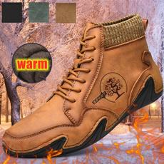 short boots, shortbootswinter, Hiking, leatherbootswinter
