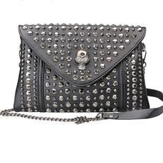 Shoulder Bags, handbags purse, rivetbag, leather