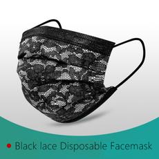 blackmask, Lace, surgicalmask, safetymask