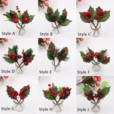 Seasonal, party, christmasredberrie, artificialplant