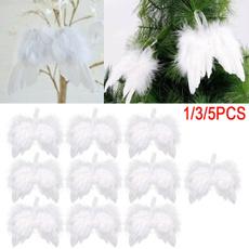xmasdecor, hangingfeather, Christmas, Angel