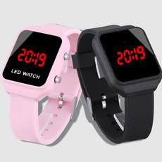 pink, Fashion, silicone watch, Silicone