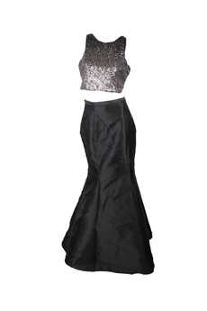 gowns, Outerwear, Dresses, Grey
