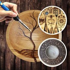 Wood, diytoolaccessorie, art, woodburningpyrographykit