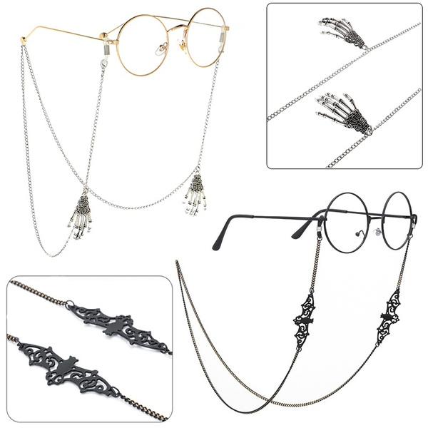 Bat, Skeleton, Chain, eargriphook