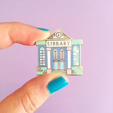 Fashion, Jewelry, Pins, librarybrooche
