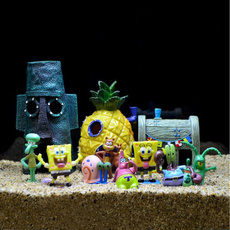 pineapplehouse, Decor, acquarium, Tank
