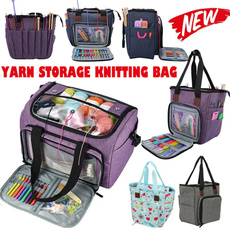 Fashion, Knitting, sewingpouch, woolstoragebag