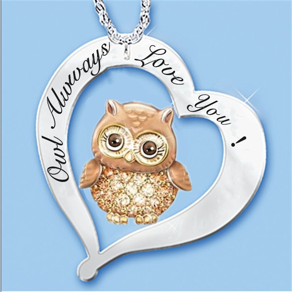 Owl, necklaces for men, Jewelry, Gifts