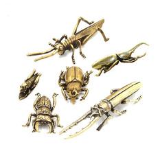 Brass, Antique, Decor, Home Decor
