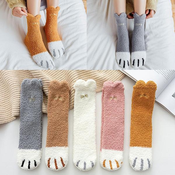 wintersock, Fleece, womensock, Winter
