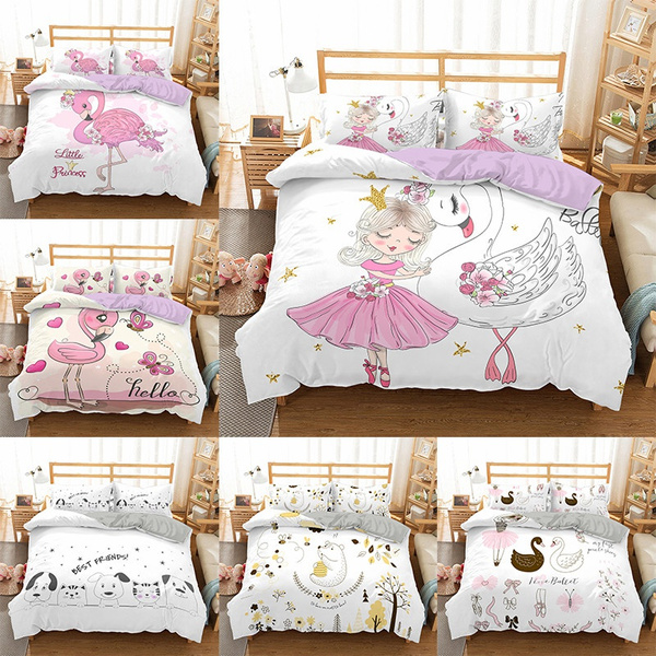 cartoonbeddingset, girlsprincessbeddingset, Home Decor, beddingsetskingsize