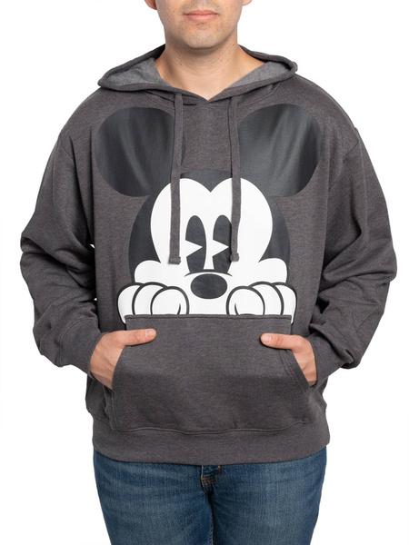 Mickey, Charcoal, Fashion, Men