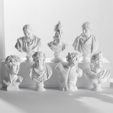 Mini, Home Decor, Sculpture, plasterbuststatue