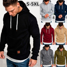 Plus Size, Casual Hoodie, hooded, pullover sweater