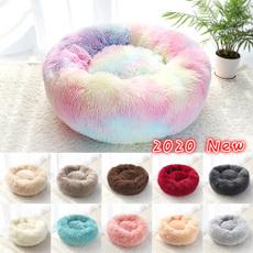rainbow, Plush, donutdogbed, catbedsfurniture