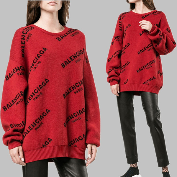knitted, Winter, Embroidery, Pullovers