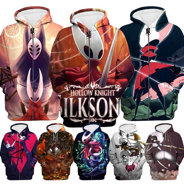 3D hoodies, Plus Size, unisex, hollowknightsilksong