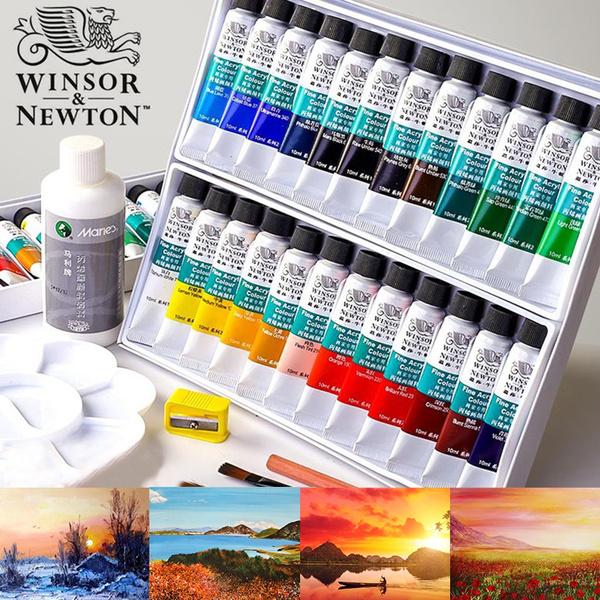 Art Supplies, Ceramic, art, handpainted