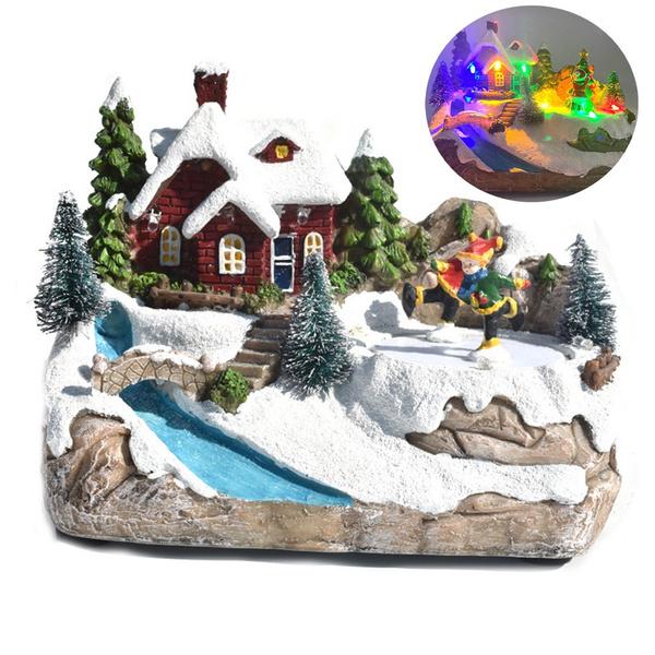 decoration, snowhousedecoration, Holiday, led