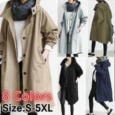 Casual Jackets, hooded, Outdoor, Waterproof