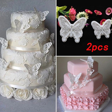 mould, butterfly, caketool, wedding decoration