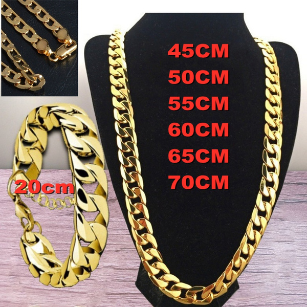 Chain Necklace, Men  Necklace, gold, Chain