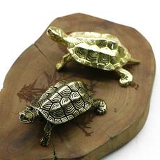 Turtle, Brass, Decor, Home & Living