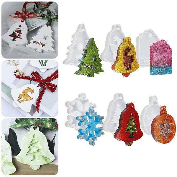 christmasmold, jewelrymakingtool, resineepoxy, Jewelry