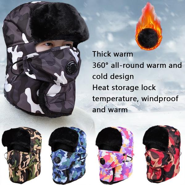 Warm Hat, Fleece, Fashion, Winter