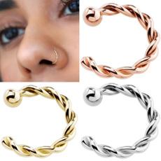 Copper, fakepiercingcopper, Jewelry, titanium