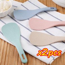 Kitchen & Dining, ricespoon, wheatstrawspoon, nonstick