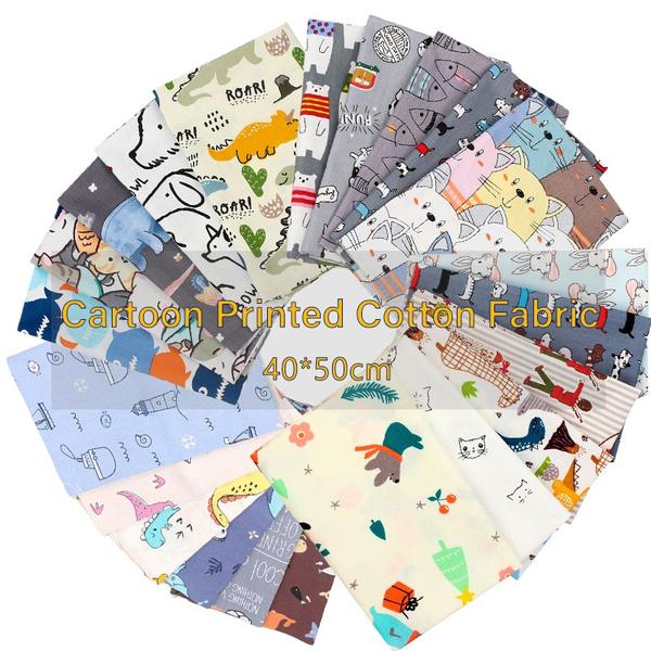 Cotton fabric, diybagfabric, Quilting, cutefabric